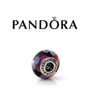Pandora Flowers For You Murano Glass Charm